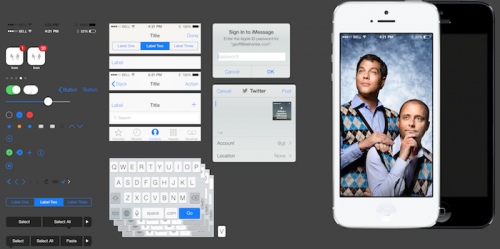 iOS 7 User-Interface PSD Kit Available For Download