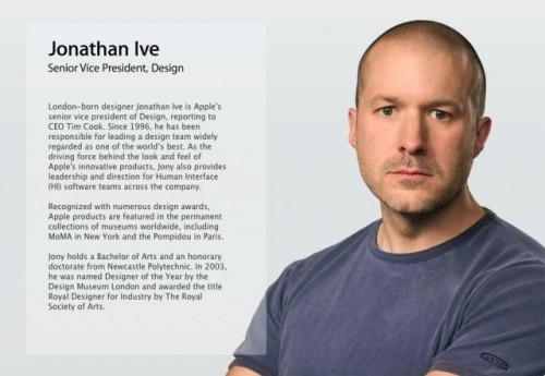 Jony Ive Gets A New Minimalist Job Title
