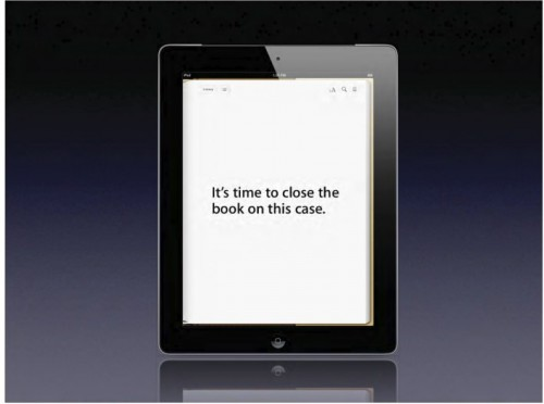 Apple Closes eBook Trial With 136 Slide Presentation