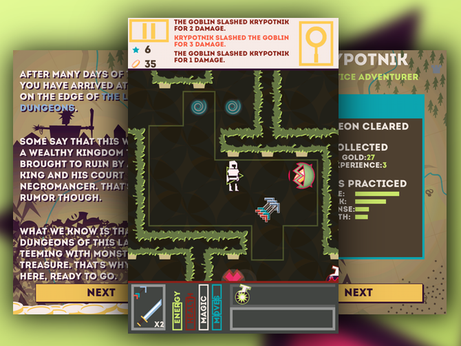 Games of the Week: Monster Guru, Tiny Thief, Fallen World, Deus Ex: The Fall, Dungeonism