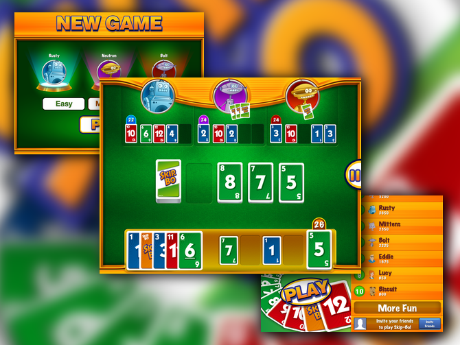 skip bo game how to play