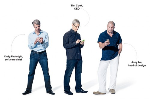 Three Top Level Apple Executives Cook, Ive, Federighi, One Interview
