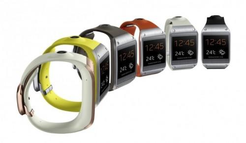 Samsung Introduces The Galaxy Gear Smartwatch