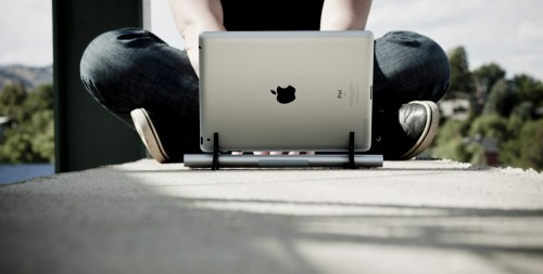 Type In Style With The Wingstand For iPad