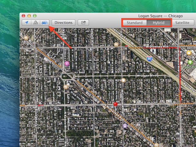 How To Get Traffic Reports In Maps For OS X