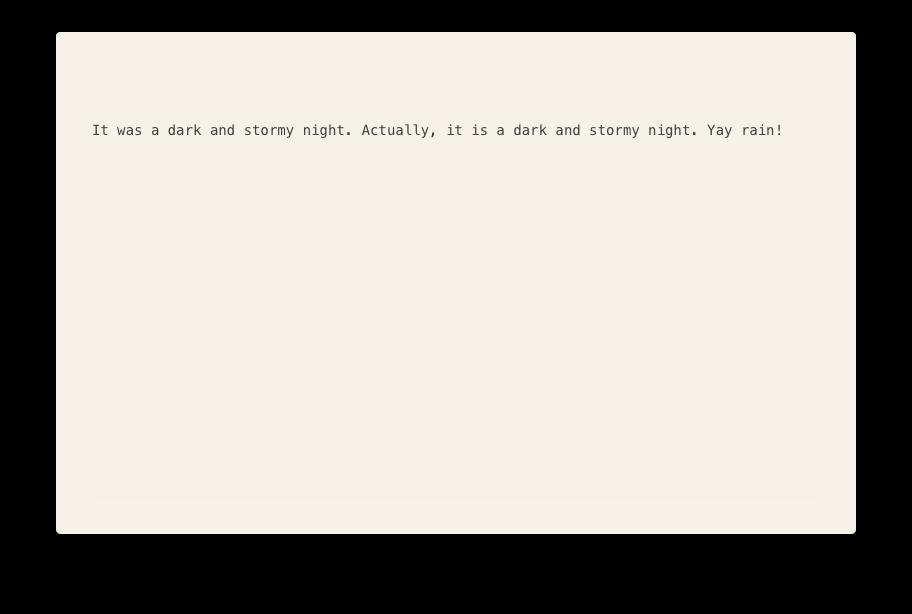 A standard Desk editor window.