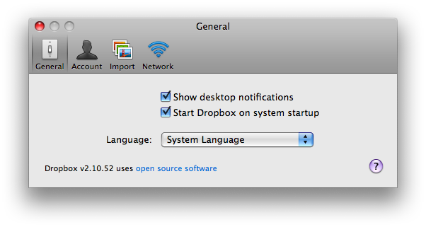Thank you, Dropbox.