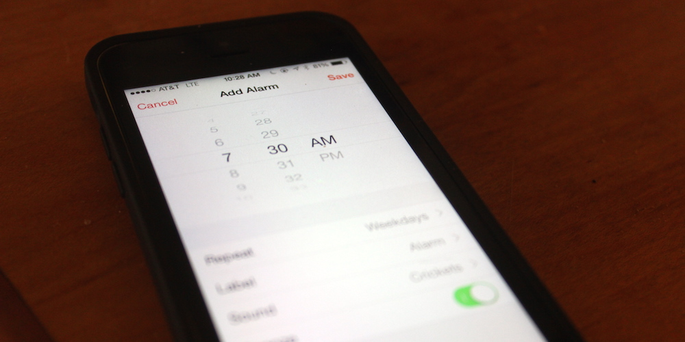 30 Days Of iOS Tips: Set A Different Alarm For Different Days
