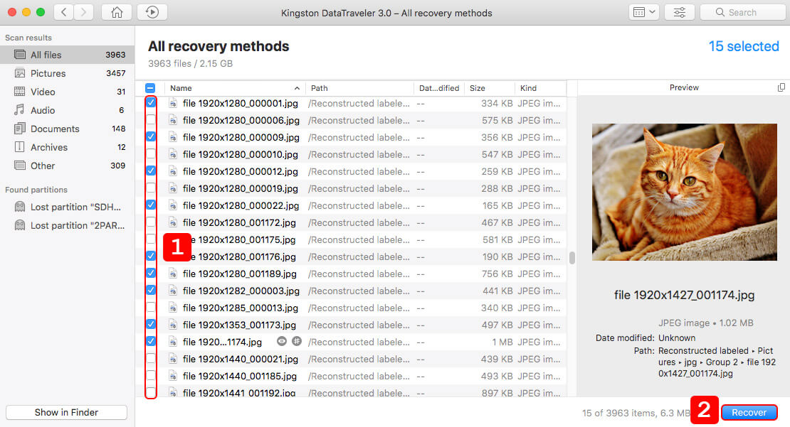 recover deleted files from external hard drive on Mac