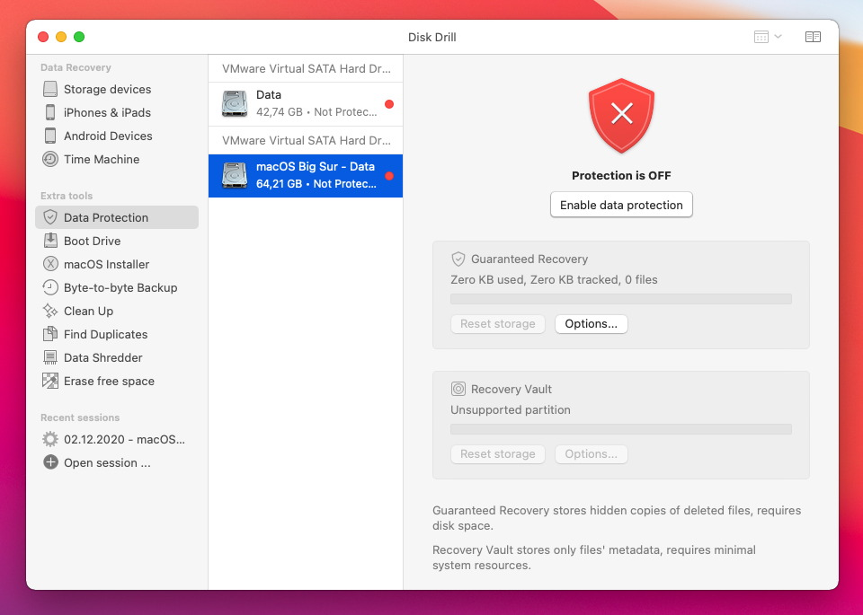 disk drill 4 data protection