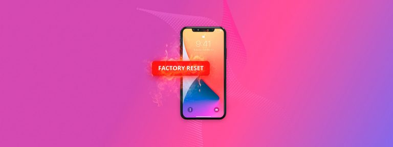 How to Recover Data After Factory Reset on iPhone
