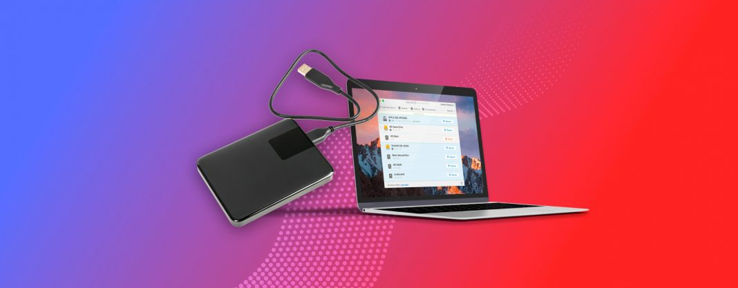 Recover data from external hard drive on Mac