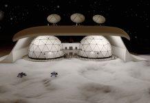NFT Moon House Exteriror by Roman Kropachek
